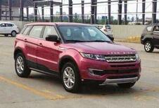 Chinese kopie van de Range Rover Evoque