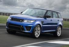Range Rover Sport SVR laat masker vallen
