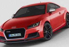 Audi TT-RS houdt vijfpitter