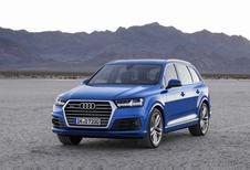 Audi Q7 laat zich zien