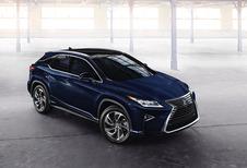 Nieuwe Lexus RX krijgt het moeilijk