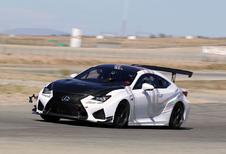 Ook Lexus RC F GT raast straks naar Pikes Peak
