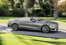Mercedes S-Klasse Cabrio geeft zich helemaal bloot