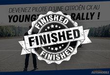 Devenez pilote d'une Citroën CX au Youngtimers Rally !