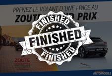 Prenez le volant d'une I-Pace au Zoute Grand Prix 2019
