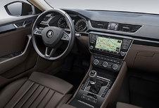 Nieuwe Skoda Superb toont alvast zijn dashboard