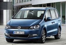 Sterkere motoren voor opgefriste Volkswagen Sharan