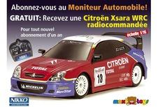 Une Xsara WRC avec Le Moniteur Automobile