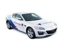 Mazda RX-8 Hydrogen RE in Noorwegen