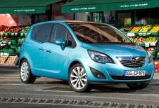 Nieuwe diesels voor Opel Meriva