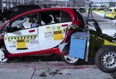 Mitsubishi i-MiEV au crash-test