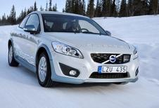 Volvo C30 électrique testée par grand froid