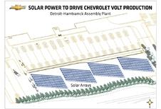 Des panneaux solaires pour la Volt
