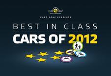 EuroNCAP désigne les premiers de classe 2012