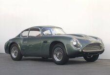 100 jaar Aston Martin in Autoworld