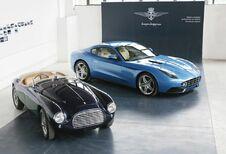 Grand écart Ferrari pour Touring Superleggera à la Villa d'Este