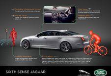 Jaguar Land Rover teste le 6e sens