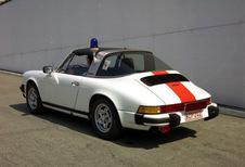 50 jaar Porsche Targa in Autoworld