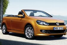 Volkswagen Golf Cabrio : retouches et chasse au CO2