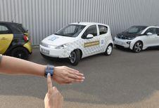 ZF Urban Advanced Vehicle IAA 2015: draait op een zakdoek