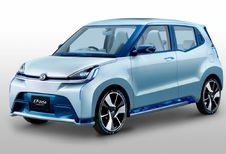 4 conceptcars van Daihatsu in Tokio