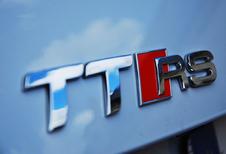 Audi test de nieuwe TT-RS op de Nordschleife