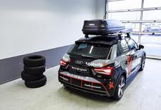 Audi A1 eert uitgebrande RS6 DTM van Jon Olsson