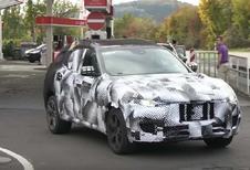 Maserati : le SUV Levante en test sur le Nürburgring