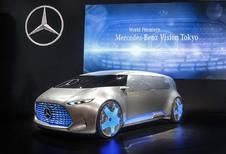 Mercedes Vision Tokyo: de toekomst in een oogopslag #1