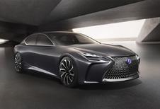 Lexus LF-FC wil limousine met GT-allures zijn