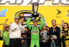 Come back kid Kyle Bush pakt zijn eerste NASCAR-titel