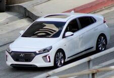 Definitieve Hyundai Ioniq betrapt tijdens filmopname