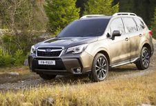 Subaru Forester: minifacelift