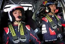 En route avec l'i20 WRC et Katrina Patchett