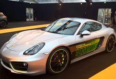 Porsche Cayman E-volution : petite surprise à Paris