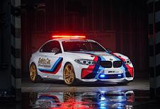 Zoek de 6 verschillen tussen de BMW M2 en de M2 MotoGP Safety Car