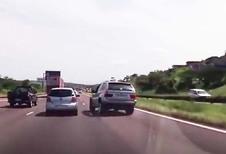 VIDÉO – Colère au volant, accident au tournant