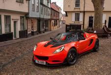 Lotus Elise Cup 250 : 921 kg