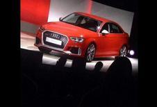Audi RS3 dévoilée par mégarde