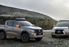 Mitsubishi L200 en ASX Geoseek Concepts: in het oranje
