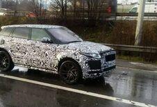 Une variante Range Rover Evoque ou le Jaguar E-Pace en test sur nos routes