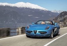 Touring Superleggera Disco Volante Spyder : 8C Spider restructurée