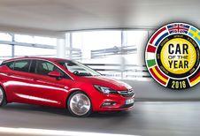 Opel Astra élue voiture de l'année 2016