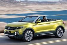Volkswagen T-Cross Breeze Concept en fuite