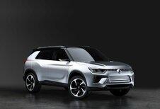 SsangYong SIV-2 Concept : hybride