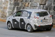 La Citroën C3 Picasso et l'Opel Meriva en commun