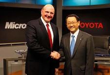Samenwerking Toyota en Microsoft