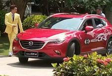 Mazda CX-4 en fuite