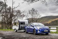 Nieuwe Toyota Prius mag trailer trekken
