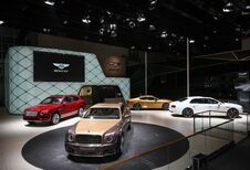 Bentley pavoise en Chine